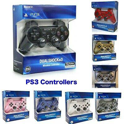 Bluetooth Dualshock3 Wireless Controller Gamepad Joystick for PlayStation PS3 UK