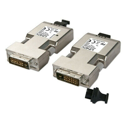 Lindy - LINDY Fibre Optic DVI-D Dual Link Extender (Transmitter and Receive NEW