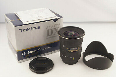 Tokina AT-X Pro AF 12-24mm F4 (IF) DX Canon Mount OVP TOP # 5308