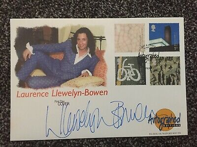 Westminster Autographed Editions FDC Signed By Laurence Llewelyn - Bowen