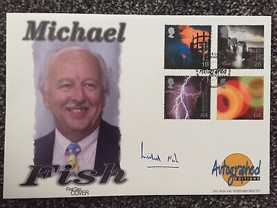 2000 Fire & Light - Westminster Autographed Editions Off - Signed MICHAEL FISH