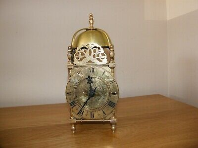 Very nice condition French Lantern Clock, lever platform escapement. GWO