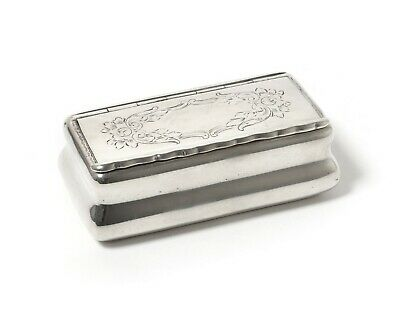 Small silver box or trinket box or snuff box.  Was imported to Sweden.