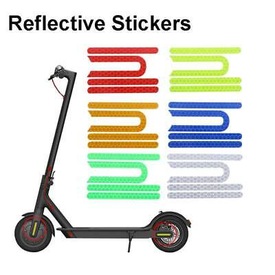 Reflective Stickers For Xiaomi Mijia M365 M187 Electric Scooter Reflect Vite