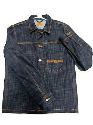 Blood orange Size M NUDIE JEANS MAN SHIRT CALLE OVERDYED Colour