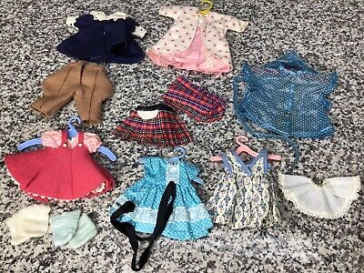 """Excellent 1950s 8"""" Vogue Ginny Doll Clothing Outfit Sets Lot"""