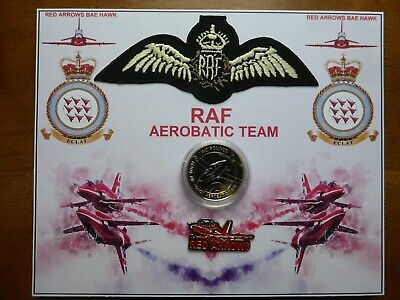 Free 50P Brexit Unc Coin +B/U Red Arrows £2 Coin Set On Display Card.1 Available