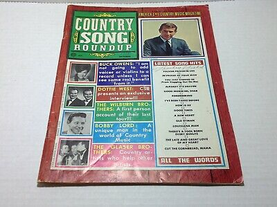 Vintage Country Song Roundup Magazine Oct 1968 Buck Owens Dottie West