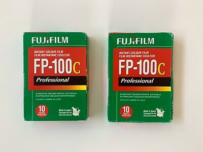 Fujifilm FP-100C Polaroids 2 Packages Tested