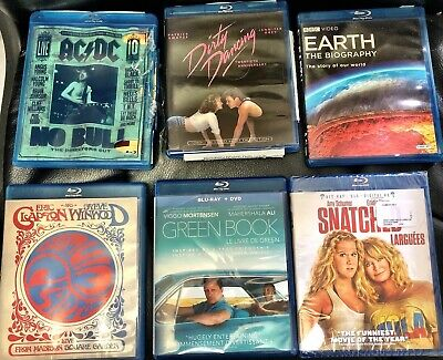 DVD lot-U Pick-Rare Concerts/Sports/Movies/Series Free Shipping-Look