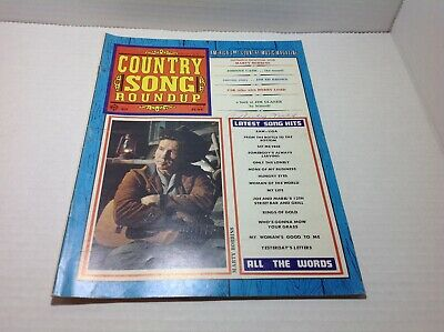 Vintage Country Song Roundup Magazine June1969 Marty Robbins Johnny Cash