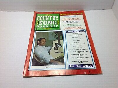 Vintage Country Song Roundup Magazine July 1969 Jerry Reed Jeannie Seeley