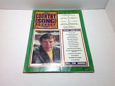 Vintage Country Song Roundup Magazine Dec 1969 Buck Owens Jimmy C. Newman