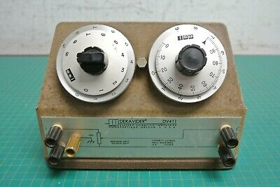 Dekavider DV-411 Voltage Divider Electro-Measurements Inc. 10KΩ