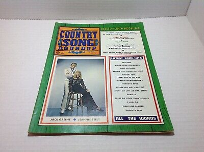Vintge Country Song Roundup Magazine April 1970 Jack Greene Jeannie Seeley