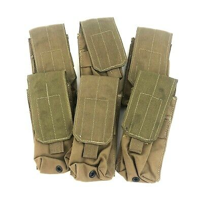 Resource Center Double Mag Pouch, Military Coyote, USMC Magazine Kit, 6 PACK