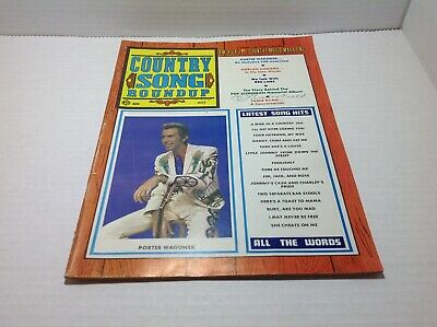 Vintge Country Song Roundup Magazine May 1970 Porter Wagoner Jamie Ryan