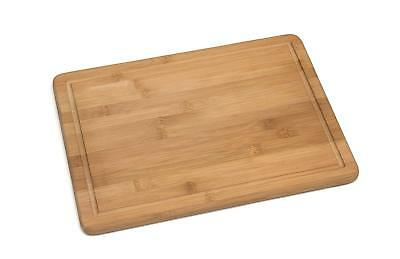 """Lipper International 951 Bamboo Wood Two-Tone Easy Grip Kitchen Cutting and Serving Board LARGE 15.75/"""" x 11.75/"""" x 0.75/"""" Set of 2"""