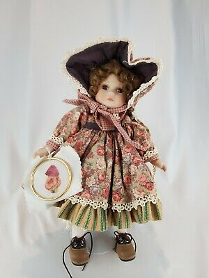 Vintage Marie Osmond Calico Cathy Quilting Cousins Porcelain Doll #1467/5000