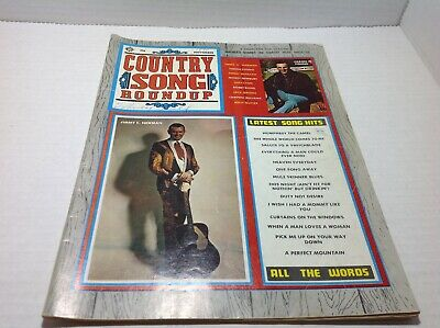 Vintage Country Song Roundup Magazine Nov 1970 Jimmy C Newman Faron Young