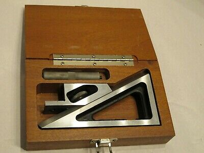 BROWN AND SHARPE 624 PLANER GAGE with WOODEN CASE USA