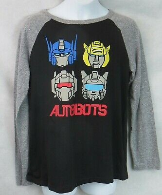 14-16 Licensed Youth Transformers Autobots Shirt New L