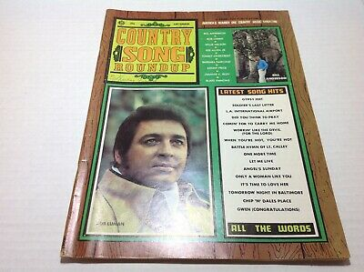 Vintage Country Song Roundup Magazine Sept 1971 Bill Anderson Bob Luman