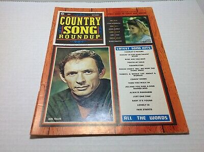 Vintage Country Song Roundup Magazine Oct 1971 Lynn Anderson Mel Tilis
