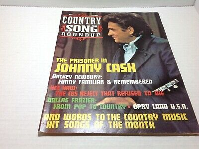 Vintage Country Song Roundup Magazine Dec 1971 Johnny Cash Hee Haw