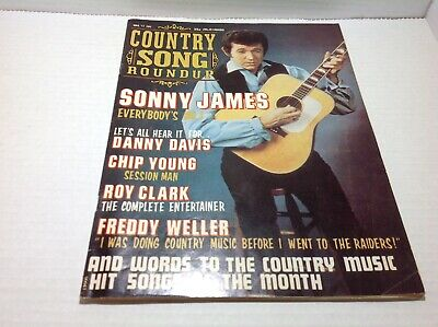Vintage Country Song Roundup Magazine Mar 1972 Sonny James Roy Clark
