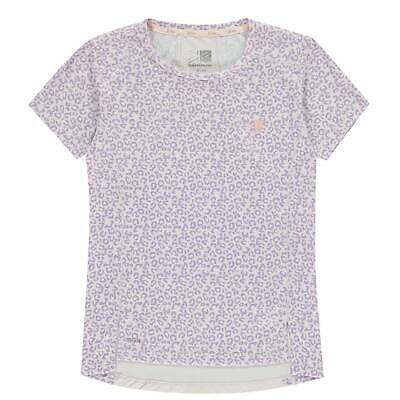Karrimor Girls X Race Short Sleeve T-shirt Top Junior Performance T-Shirt
