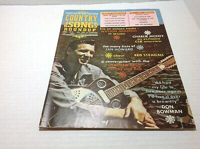 Vintage Country Song Roundup Magazine Dec 1972 Waylon Jennings Charlie McCoy