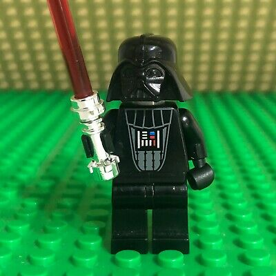 LEGO Star Wars Minifigure Darth Vader No Cape Pupils 7251 - sw0138