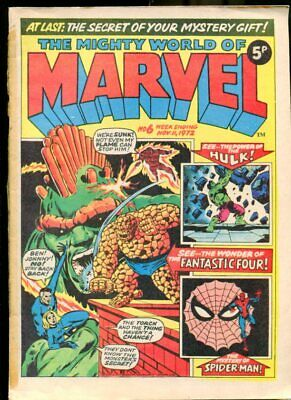 Mighty World Of Marvel #6 1972 - Marvel  -FN - Comic Book
