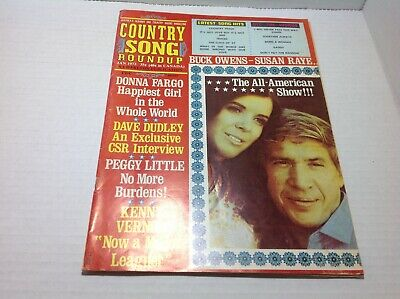 Vintage Country Song Roundup Magazine Jan 1973 Donna Fargo Susan Raye Buck Owens