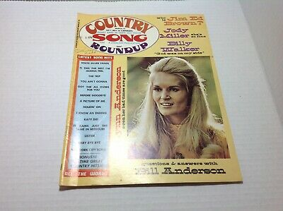 Vintage Country Song Roundup Magazine Mar 1973 Lynn Anderson Jody Miller