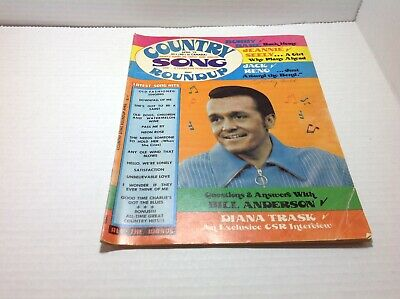 Vintage Country Song Roundup Magazine Apr 1973 Bobby Bare Jeannie Seely