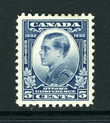 CANADA Scott 193 - M/H - 5¢ Dull Blue Prince of Wales (.016)