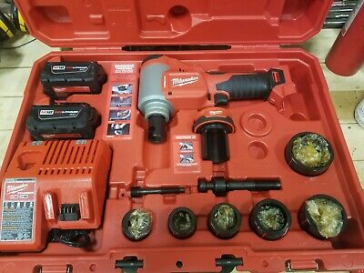 Milwaukee 2676-22 Force Logic M18 10-Ton Knockout Tool Kit