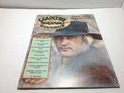 Vintage Country Song Roundup Magazine July 1974 Johnny Carver Leona Williams