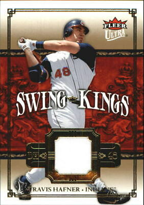 2007 Ultra Swing Kings Materials #TH Travis Hafner - NM-MT