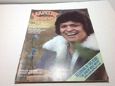 Vintage Country Song Roundup Magazine May 1975 Johnny Rodriguez Anne Murray
