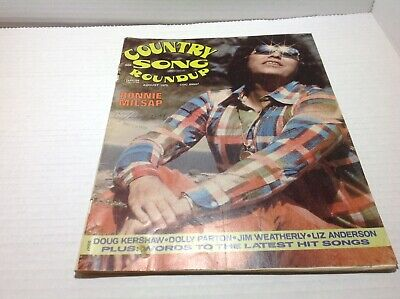 Vintage Country Song Roundup Magazine Aug 1975 Ronnie Milsap Liz Anderson