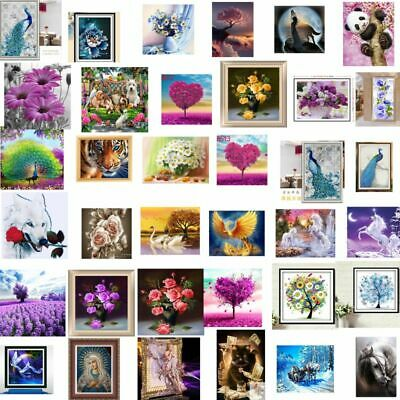 DIY Full/Partial Drill 5D Embroidery Diamond Painting Cross Crafts Stitch Decor