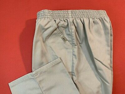 CHIC ... 100%  Cotton  Pull  On  Pants ... Beige ... Petite  Size  10P ... NEW