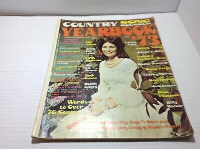 Vintage Country Song Roundup Yearbook Magazine Spring 1973 Loretta Lynn & More
