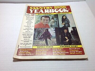 Vintage Country Song Roundup Yearbook Magazine Spring 1974 Donna Fargo & More