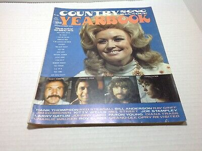 Vintage Country Song Roundup Yearbook Magazine Summer 1975 Charley Pride & More
