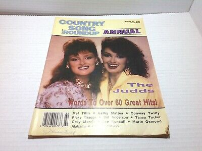 Vintage Country Song Roundup Annual Winter 1986 The Judds  & More