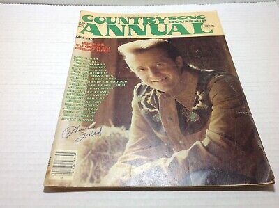 Vintage Country Song Roundup Annual Fall 1975 Roy Clark Tom T. Hall & More